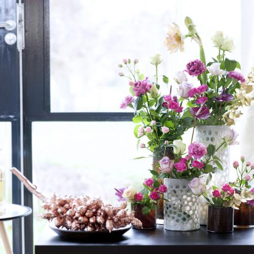 Flowers by window