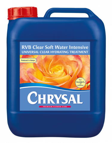 Chrysal RVB Clear Soft Water